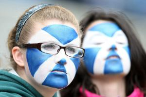 Saltire-Scottish-face-paint
